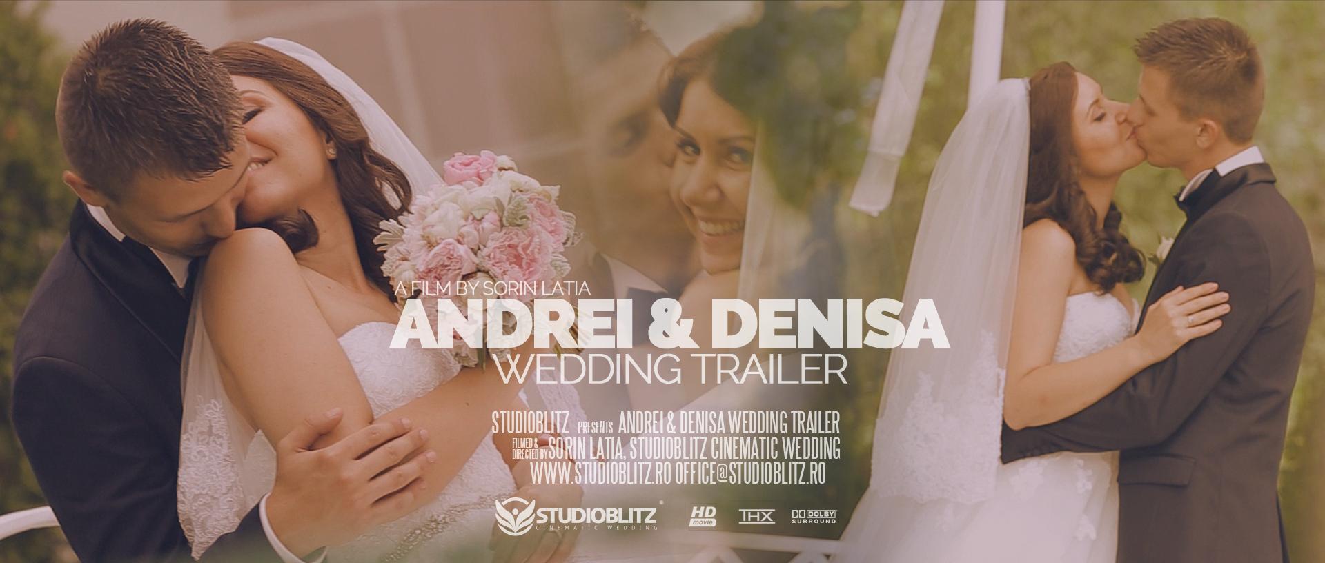 Coperta Filmare Nunta Andrei Denisa Wedding Trailer Filmari Nunti